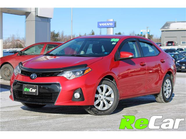 2016 Toyota Corolla S (Stk: 181360A) in Fredericton - Image 1 of 25