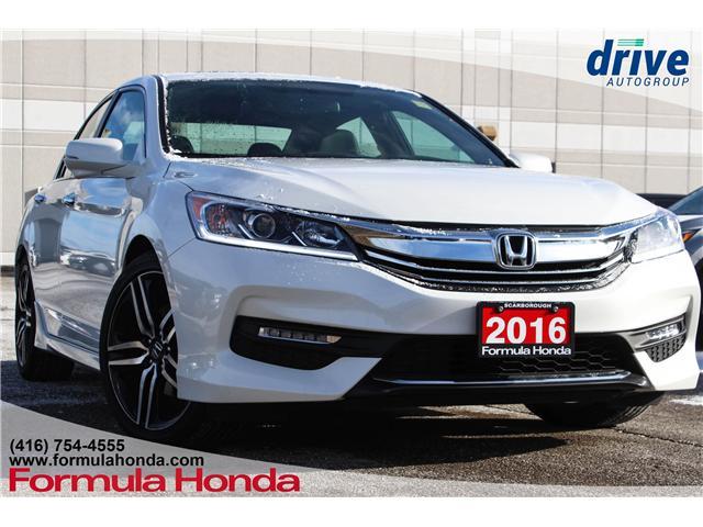2016 Honda Accord Sport (Stk: B10789) in Scarborough - Image 1 of 33