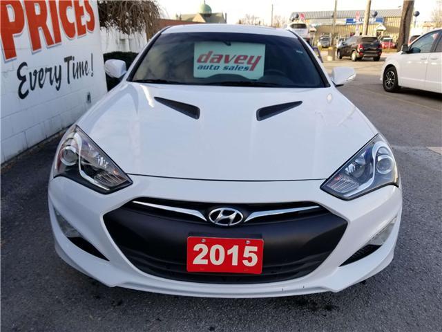 2015 Hyundai Genesis Coupe 3.8 Premium (Stk: 18-781T) in Oshawa - Image 2 of 17