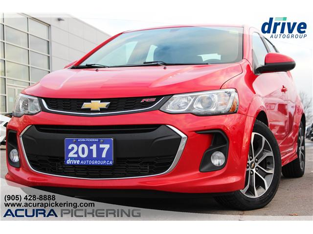 2017 Chevrolet Sonic LT Auto (Stk: AT074B) in Pickering - Image 1 of 29