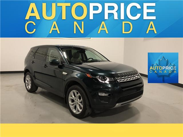 2016 Land Rover Discovery Sport HSE (Stk: W0023) in Mississauga - Image 1 of 27