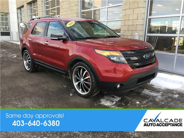 2014 Ford Explorer Sport (Stk: 59212) in Calgary - Image 1 of 20