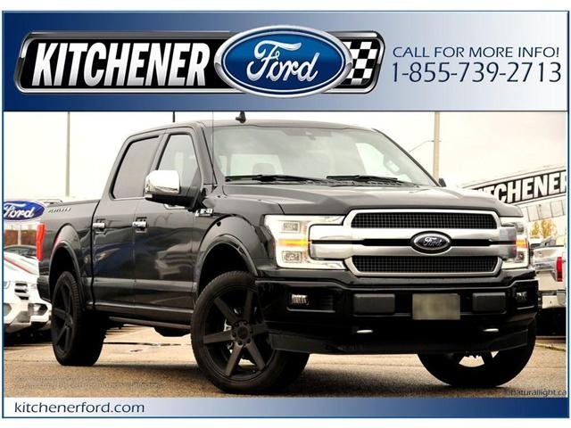 2018 Ford F-150 Platinum (Stk: 8F11000) in Kitchener - Image 1 of 4