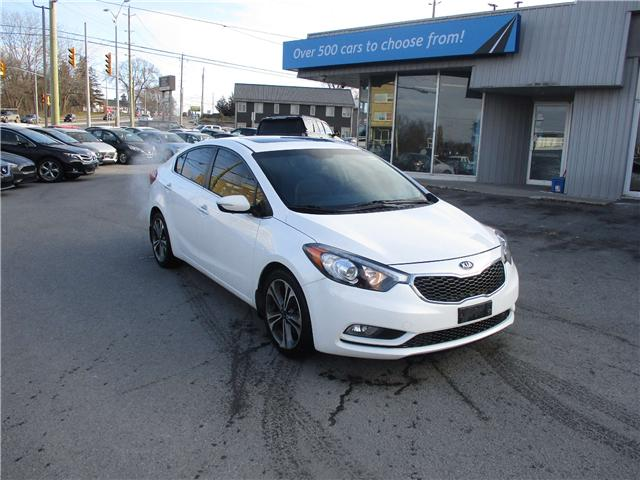 2015 Kia Forte 2.0L SX (Stk: 181963) in Kingston - Image 1 of 13