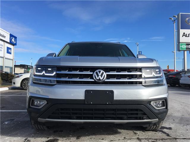 2018 Volkswagen Atlas 3.6 FSI Highline (Stk: 18-55468) in Brampton - Image 2 of 30