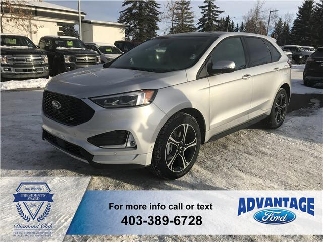 2019 Ford Edge ST (Stk: K-203) in Calgary - Image 1 of 5