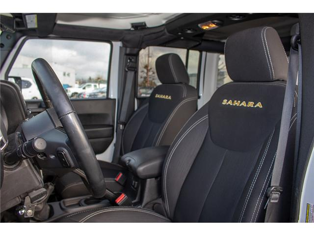 2015 Jeep Wrangler Unlimited Sahara (Stk: EE899770) in Surrey - Image 8 of 23