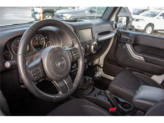 2015 Jeep Wrangler Unlimited Sahara (Stk: EE899770) in Surrey - Image 9 of 23
