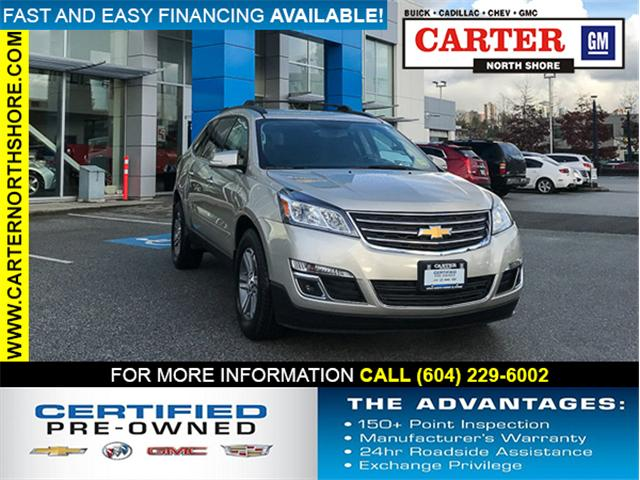 2015 Chevrolet Traverse 1LT (Stk: 9TR28761) in North Vancouver - Image 1 of 30