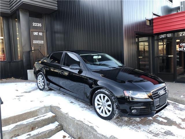 2012 Audi A4 2.0T (Stk: ) in Ottawa - Image 1 of 20
