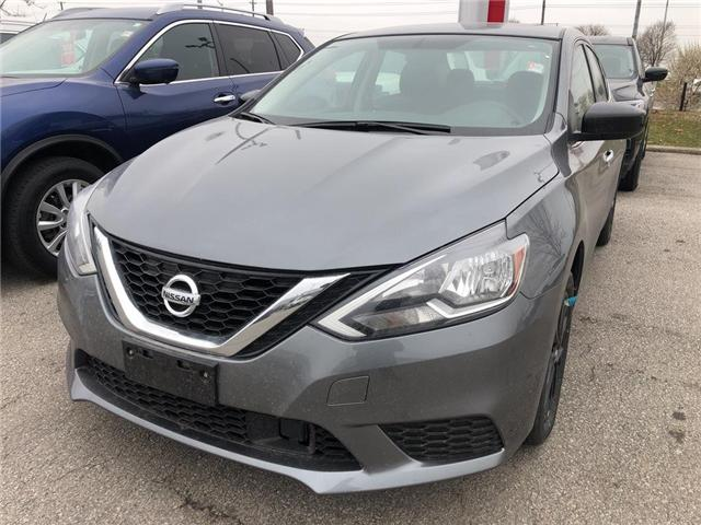 2018 Nissan Sentra 1.8 SV Midnight Edition (Stk: SE125-18) in Etobicoke - Image 1 of 5