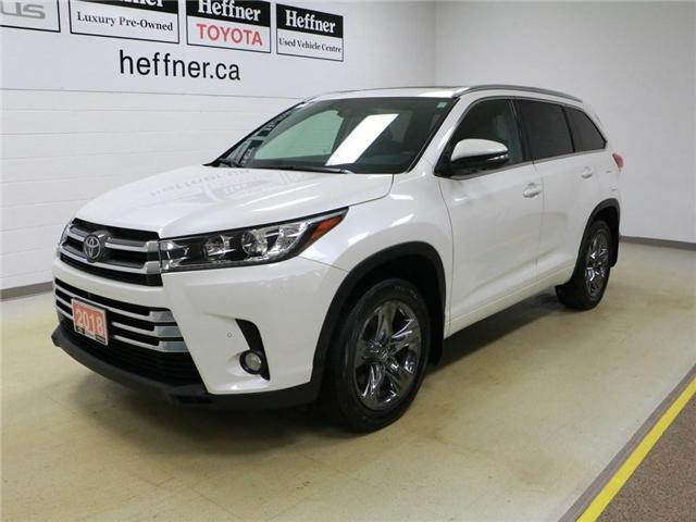 2018 Toyota Highlander  (Stk: 186485) in Kitchener - Image 1 of 30