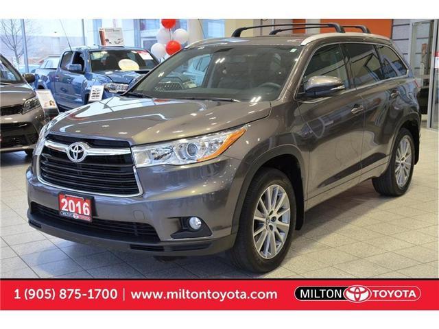 2016 Toyota Highlander  (Stk: 252596) in Milton - Image 1 of 41