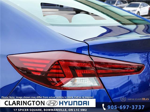 2019 Hyundai Elantra Luxury (Stk: 18907) in Clarington - Image 11 of 23