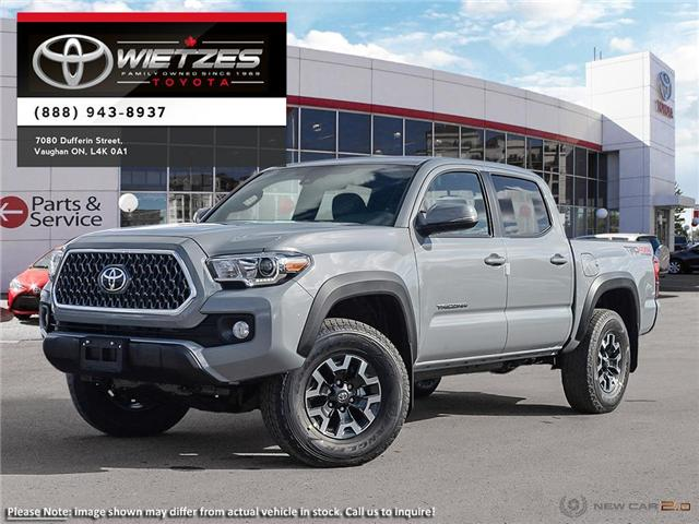 2019 Toyota Tacoma 4x4 Double Cab V6 Auto TRD Off Road (Stk: 67824) in Vaughan - Image 1 of 24