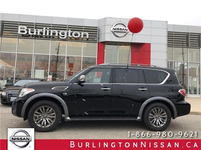 2018 Nissan Armada Platinum (Stk: X4354) in Burlington - Image 1 of 22