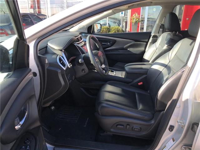 2016 Nissan Murano Platinum (Stk: X4432A) in Burlington - Image 12 of 22