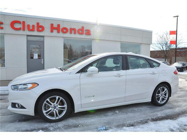 2015 Ford Fusion Hybrid SE (Stk: 6956A) in Gloucester - Image 2 of 23
