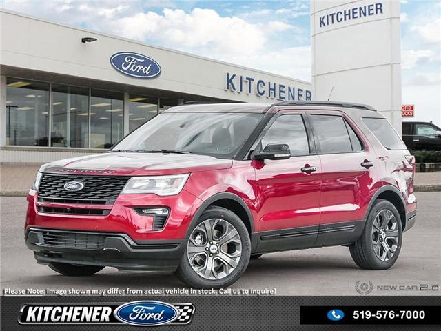 2018 Ford Explorer Sport (Stk: D89870) in Kitchener - Image 1 of 25