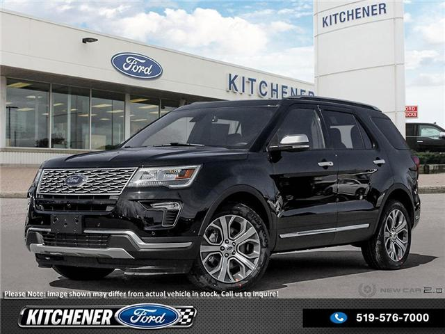 2018 Ford Explorer Platinum (Stk: 8P9040) in Kitchener - Image 1 of 23