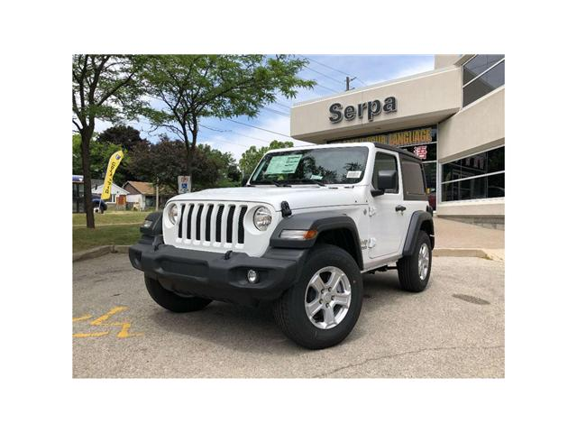 2018 Jeep Wrangler Sport (Stk: 184096) in Toronto - Image 1 of 17