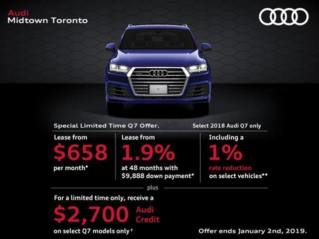 2018 Audi Q7 3.0T Komfort (Stk: AU4137) in Toronto - Image 1 of 1