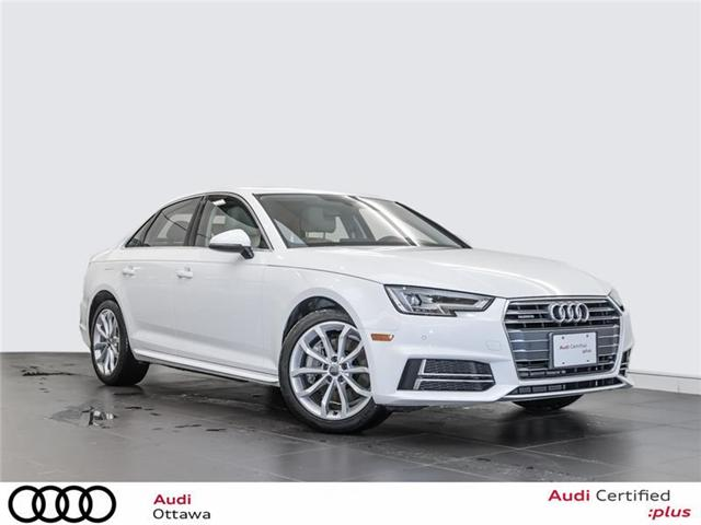 2018 Audi A4 2.0T Progressiv (Stk: 52300A) in Ottawa - Image 1 of 22
