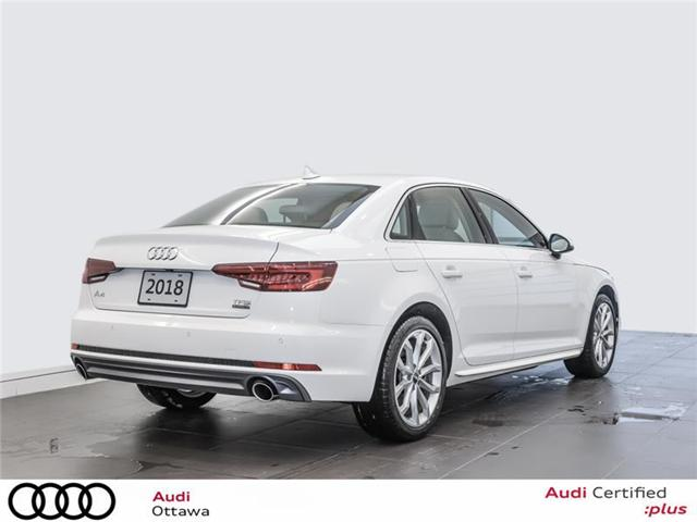 2018 Audi A4 2.0T Progressiv (Stk: 52300A) in Ottawa - Image 3 of 22