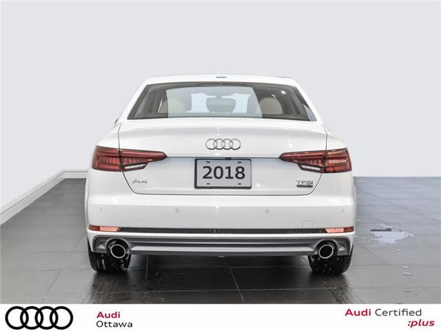 2018 Audi A4 2.0T Progressiv (Stk: 52300A) in Ottawa - Image 6 of 22