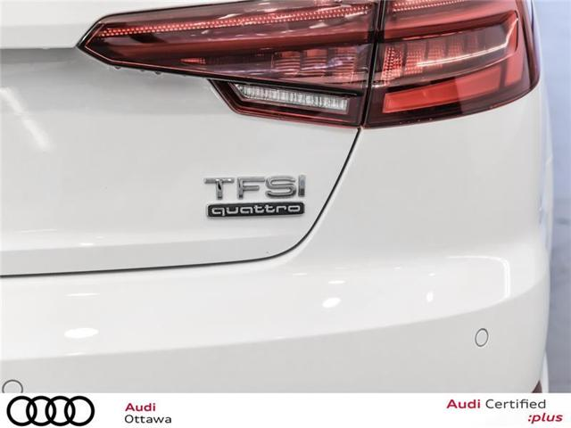 2018 Audi A4 2.0T Progressiv (Stk: 52300A) in Ottawa - Image 9 of 22