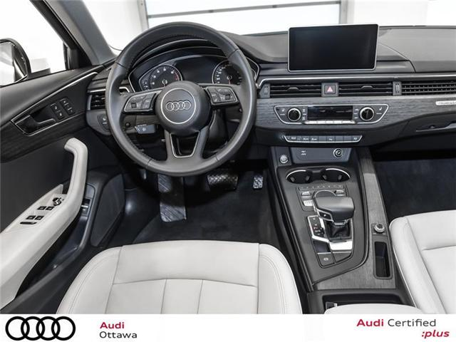 2018 Audi A4 2.0T Progressiv (Stk: 52300A) in Ottawa - Image 17 of 22
