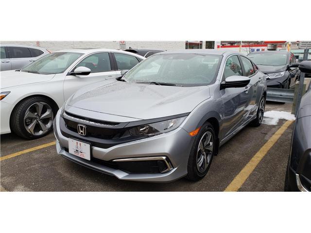2019 Honda Civic LX (Stk: 1900223) in Toronto - Image 2 of 4