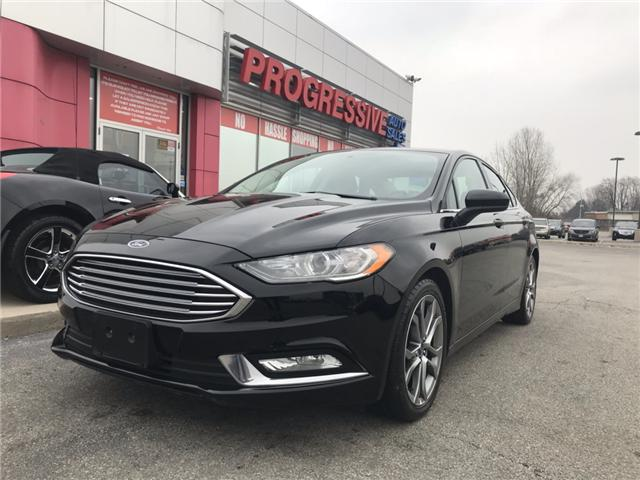 2017 Ford Fusion SE (Stk: HR239411) in Sarnia - Image 1 of 22