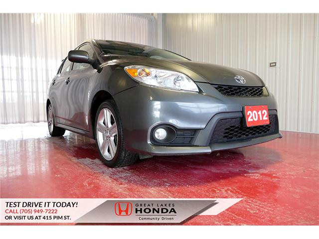 2012 Toyota Matrix Base (Stk: H6086A) in Sault Ste. Marie - Image 1 of 20