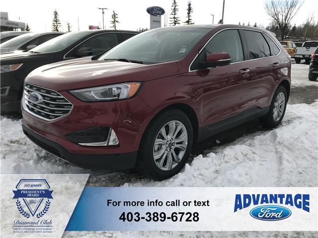 2019 Ford Edge Titanium (Stk: K-132) in Calgary - Image 1 of 5