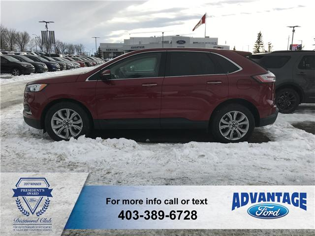 2019 Ford Edge Titanium (Stk: K-132) in Calgary - Image 2 of 5