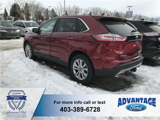2019 Ford Edge Titanium (Stk: K-132) in Calgary - Image 3 of 5