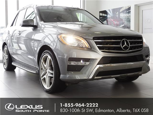 2013 Mercedes-Benz M-Class Base (Stk: L900134A) in Edmonton - Image 1 of 20