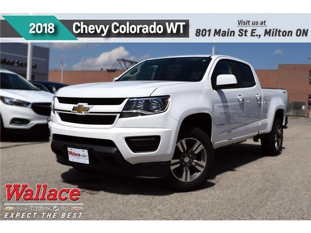 2018 Chevrolet Colorado WT (Stk: 261636) in Milton - Image 1 of 9