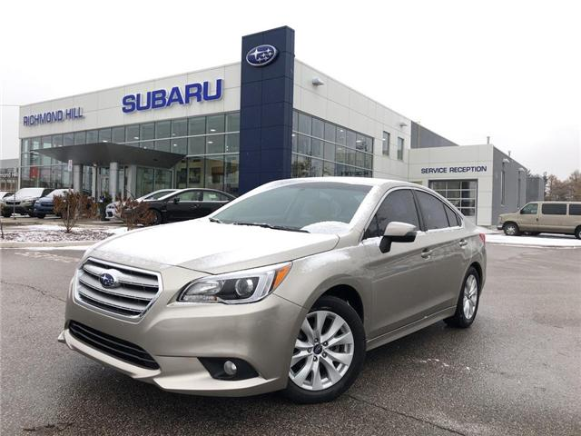 2016 Subaru Legacy 2.5i Touring Package (Stk: P03767) in RICHMOND HILL - Image 1 of 22