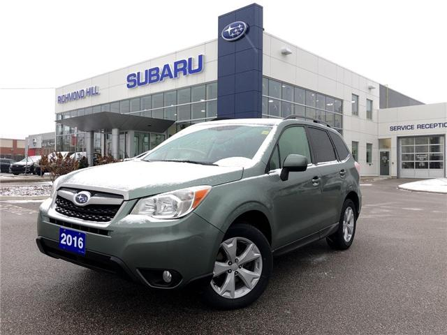 2016 Subaru Forester 2.5i Touring Package (Stk: LP0213) in RICHMOND HILL - Image 1 of 24