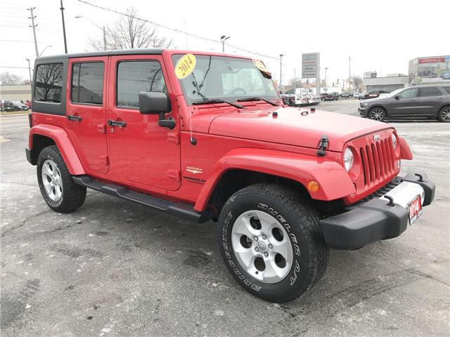 2014 Jeep Wrangler Unlimited Sahara (Stk: 18879A) in Windsor - Image 1 of 11