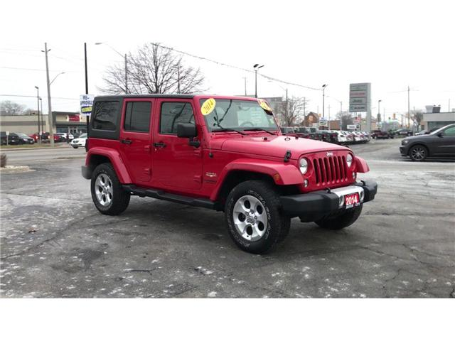 2014 Jeep Wrangler Unlimited Sahara (Stk: 18879A) in Windsor - Image 2 of 11