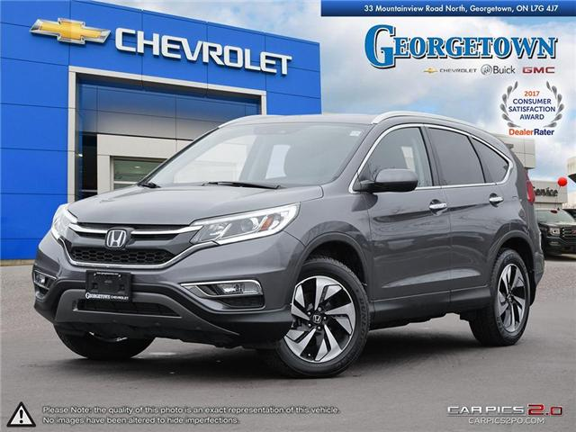 2015 Honda CR-V Touring (Stk: 28699) in Georgetown - Image 1 of 27