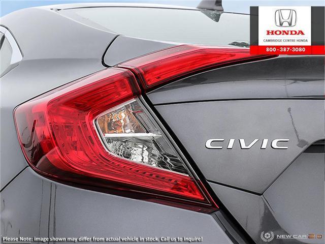 2019 Honda Civic Touring (Stk: 19211) in Cambridge - Image 11 of 24