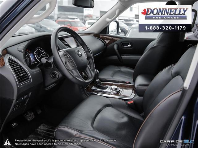 2018 Nissan Armada SL (Stk: CLMUR933) in Kanata - Image 13 of 27