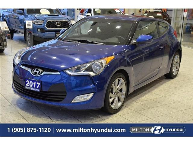 2017 Hyundai Veloster  (Stk: 318821) in Milton - Image 1 of 34