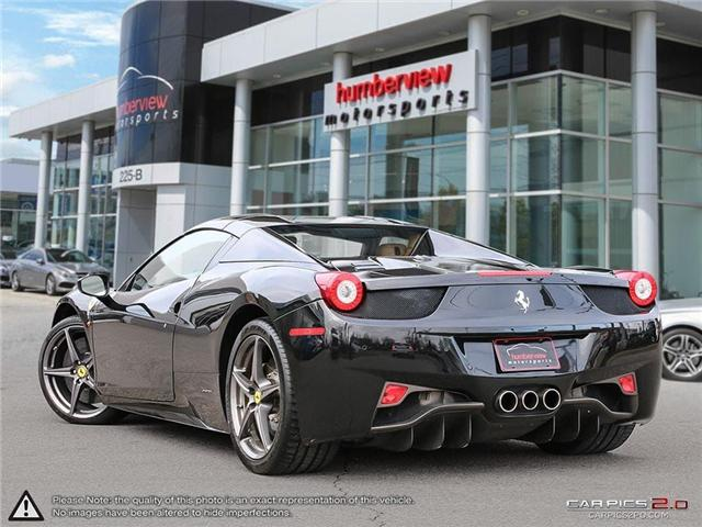 2014 Ferrari 458 Spider Base (Stk: 18MSX659) in Mississauga - Image 4 of 30