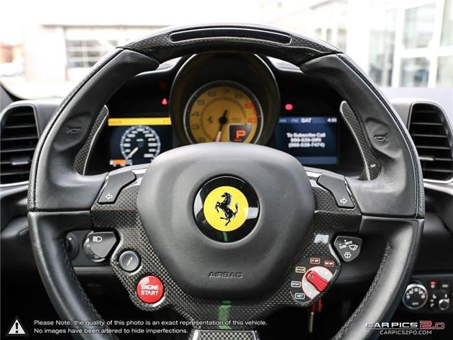 2014 Ferrari 458 Spider Base (Stk: 18MSX659) in Mississauga - Image 15 of 30
