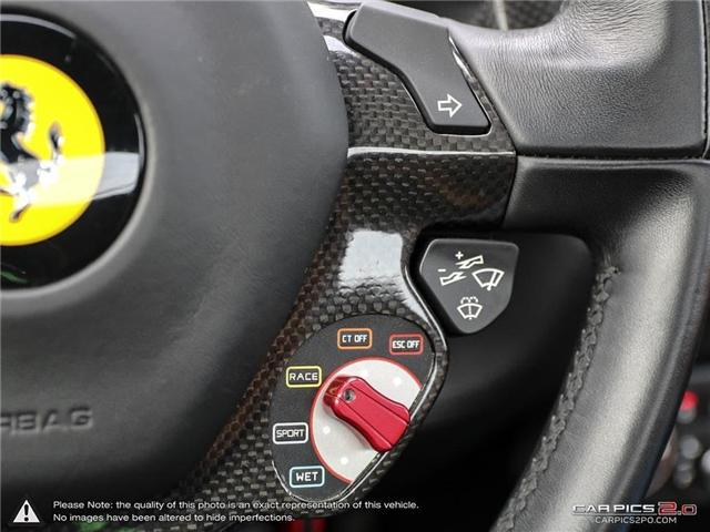 2014 Ferrari 458 Spider Base (Stk: 18MSX659) in Mississauga - Image 18 of 30